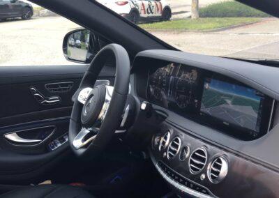 Taxiservice Heilbronn Innenausstattung Fahrer