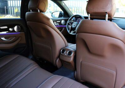 Taxiservice Heilbronn Innenausstattung Luxus Mercedes